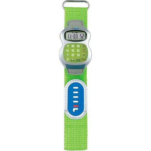 Fila 84806 - Reloj infantil con correa de tela, color negro / gris