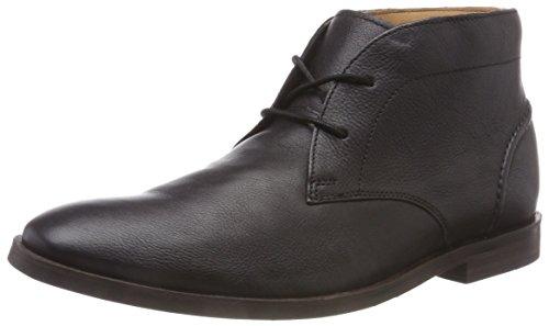 431e5de4fa9c Clarks Glide, Bottes Chukka Homme, Noir (Black Leather), 45 EU
