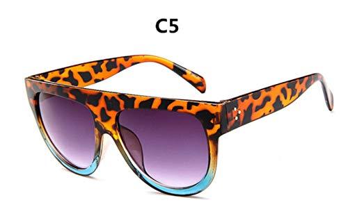Cranky Orange 2019 Luxusmarke Designer Sonnenbrillen Frauen Vintage Sonnenbrille Big Full Frame Brillen Frauen Brillen Gafas Oculos de Sol, C5