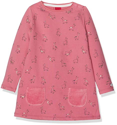 s.Oliver Baby-Mädchen Kleid 65.809.82.2756, (Pink AOP 43b5), 74