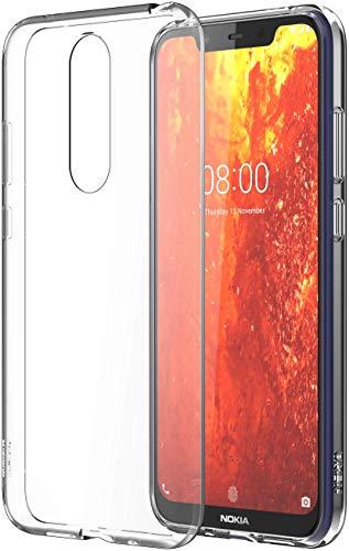 Clear Backcover Transparent für das Nokia 8.1