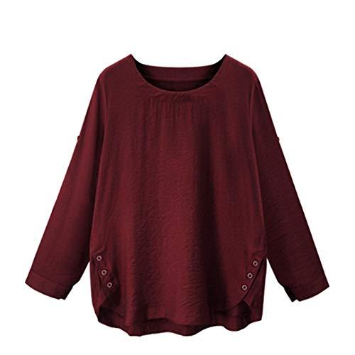 JUTOO Tops Damen Sommer gelbweiße Damenbekleidung Opus elee Fashion günstig bestellen günstige kataloge Business Kleidung Damen Mode kataloge Frauen günstige Damenmode auf rechnung (XL)