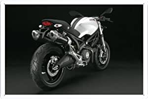 2008 Ducati Monster 696 6 Print on Tin Sign Plate Metal Poster 20*29cm by Wposter