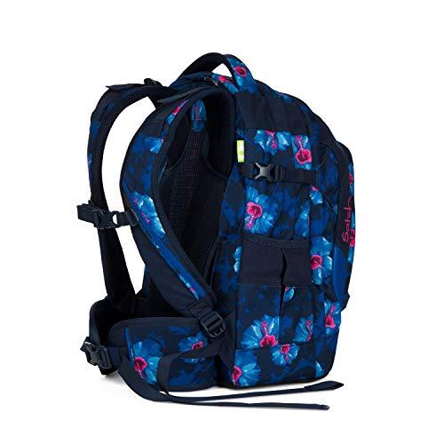 satch Pack ergonomischer Schulrucksack für Mädchen und Jungen - Waikiki Blue -