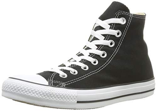 Converse Unisex-Erwachsene Ctas-Hi-Black High-Top, Schwarz (M9160 Schwarz/weiß),41 EU (High-top Converse Frauen 8)