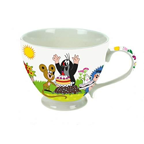 Trötsch Tasse Kaffeebecher Porzellan Geburtstag-der Kleine Maulwurf in Farbigem Geschenkkarton...