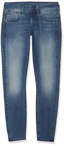 G-STAR RAW Damen Lynn Mid-Waist Skinny Jeans, Blau (Antic Blue 8968-812), 26W / 26L