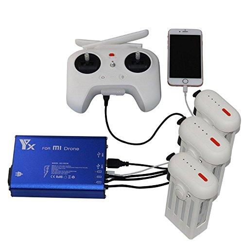 Chargeur intelligent de batterie rapide d'¨¦quilibre de chargeur multiple de batterie pour le drone de XIAOMI MI