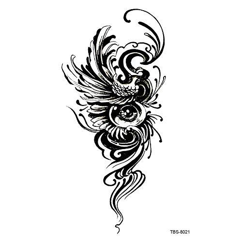 Handaxian wasserdichte Tätowierungsaufkleberart und weise des Symbols des Totems 2pcs-8 schöne geometrische Formdekoration 2pcs-8