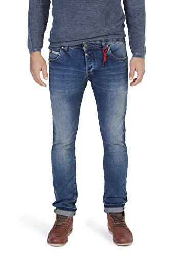 Timezone Herren Jeans Slim Scott Blau (Classic Blue Wash 3061)