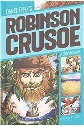 Robinson Crusoe (Graphic Revolve: Common Core Editions) by Daniel Defoe (2015-08-06)