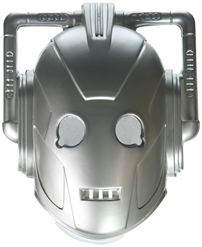 Transforming Kostüm - Cyberman Vacuform Costume Mask