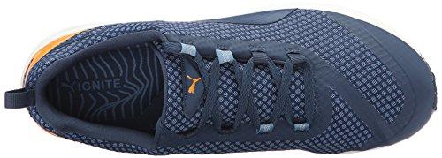 Puma Ignite Xt Nucleo scarpa da running Blue Heaven/Blue Wing Teal/Orange Pop/White