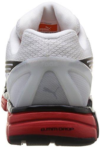 Puma Faas 600 S, Unisex-Erwachsene Laufschuhe Training Weiß (Wht/Silv/Blk)