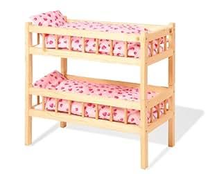 pinolino 251004 accessoire poup e lits superpos s carmen avec textile inclus. Black Bedroom Furniture Sets. Home Design Ideas