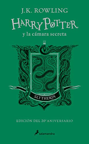 Harry Potter cámara secreta. Slytherin: Verde 20