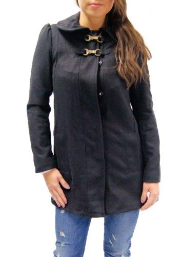 Pepe Jeans Damen Mantel 'BEVERLY' schwarz Größe L