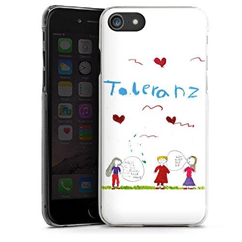 Apple iPhone X Silikon Hülle Case Schutzhülle Kinder Zeichnung Fina Hard Case transparent