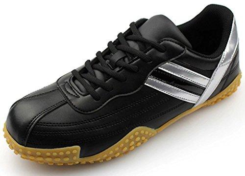DDTX Ultraligeros con Cómodo Zapatos de Seguridad Puntera de ACERO Unisex-Adulto Negro (46) htxl0EEd