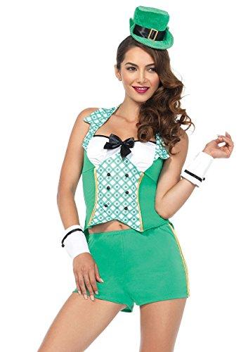 Kostüm Sexy Leprechaun - 4Darlin Leprechaun Kostüm SML/MED