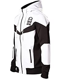 Star Wars Episode 7 - The Force Awakens - First Order - Stormtrooper - FN-2187 Veste de survêtement noir/blanc