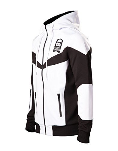 Star Wars Episode 7 - The Force Awakens - First Order - Stormtrooper - FN-2187 Giacca allenamento nero/bianco Nero/Bianco