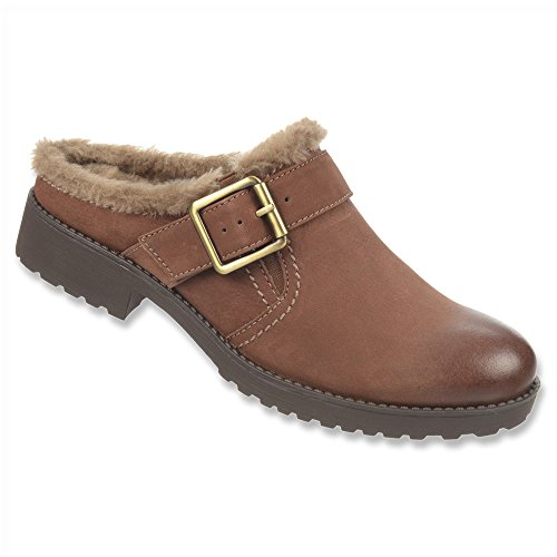 Naturalizer Ernesta Mule Bridal Brown Nubuck Leather