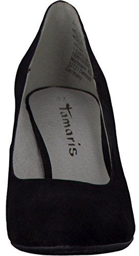 Tamaris Schuhe 1-1-22475-28 bequeme Damen Pumps, Sommerschuhe für modebewusste Frau, Black