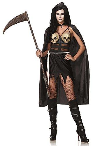 Leg Avenue 85444 - Death Dealer Kostüm, Größe Medium (EUR ()