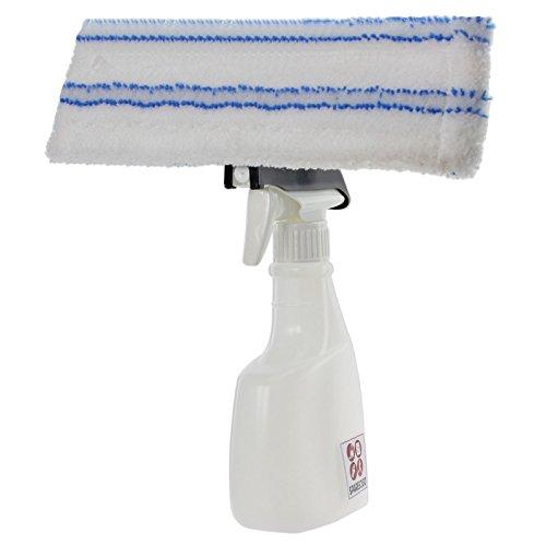 spares2go Spray Flasche Kit für Black & Decker Fenster Vakuum + VAC Pad/Tuch Cover