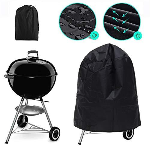 KOKOMALL Funda para Barbacoa Impermeable Cubierta BBQ Parrilla de Gas Protección UV Resistente al Polvo...