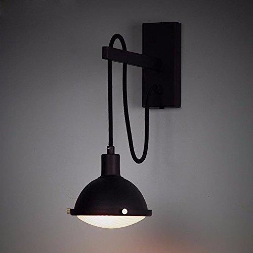 Lampada da Parete Applique da Parete LED Stile Moderno Lampada da comodino per moto retro bar lampada da comodino Portalampada E27 per casa, design indust,Bar, ristoranti,Club, (110-220 V)