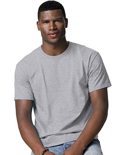 hanes-t-shirt-uomo-grau-oxford-gray-m