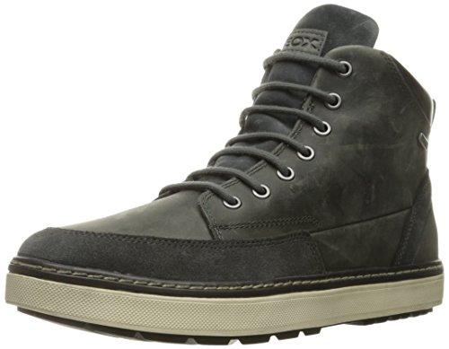 Geox U Mattias B Abx B, Sneakers alte Uomo, Grigio (STONEC9007), 44 EU