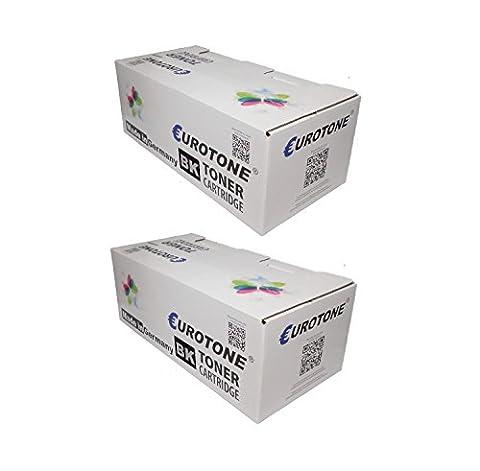 2x Eco Toner ersetzt HP C7115A / C7115X Patronen - für LaserJet 1200 1220 3300 3310 3320 3380 Series / 1220N 1220SE N SE / 3300 3310 3320 3320 3330 3380 N MFP 3300MFP 3320MFP 3320N MFP 3330MFP 3380MFP - deutsche Qualität von Eurotone - kein Original - 100% kompatibel