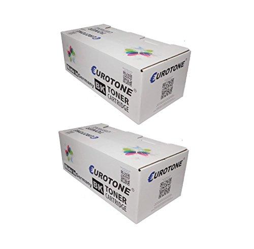 Preisvergleich Produktbild 2x Eurotone Toner für Ricoh MP2501L MP2501SP MP2001L MP2001SP ersetzt 841769 TYPE2501E TYPE2501 Schwarz