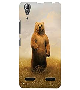 ColourCraft Cute Teddy Design Back Case Cover for LENOVO A6000
