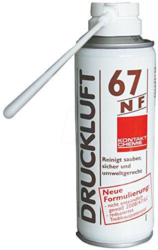 CRC Kontakt Chemie Druckluftspray nicht brennbar DRUCKLUFT 67 NF 30025-DE 200ml