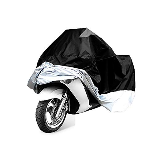 YXX- Couvertures de meubles La moto antipoussière extérieure protège de la poussière ensemble de 5, couverture UV de voiture électrique de protection UV coupe-vent de protection solaire