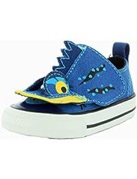 Converse Unisex-Baby Chuck Taylor All Star Creatures Ocean Depths Sneaker - 2