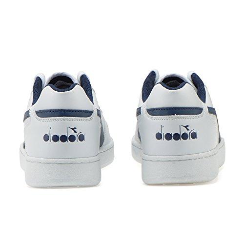 Diadora Playground, Sneaker Uomo White / Estate Blue