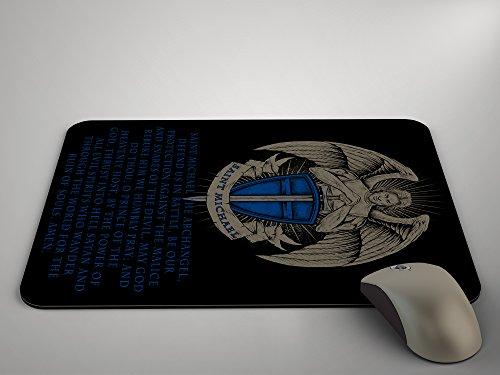 Preisvergleich Produktbild Saint Michael Mauspad Police Mousepad Mauspad (9,2x 19,7cm)
