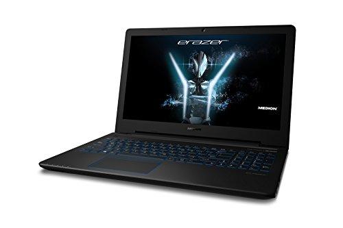 Medion ERAZER P6679 15.5-Inch Notebook - (Black) (Intel i57200U, 8 GB RAM, 1TB HDD, 4GB DDR3_SDRAM NVIDIA GeForce GTX 950M Graphics, Windows 10 Home)