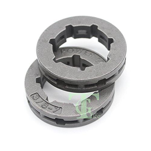 2PCS/3/20,3cm 7T frizione RIM pignone per motosega Husqvarna 6166266268272362365371372385Repalce 68210