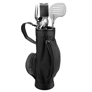 BBQ-Golfbag 'Profi' inkl. Grillbesteck, 5-teiliges Set, 54 cm