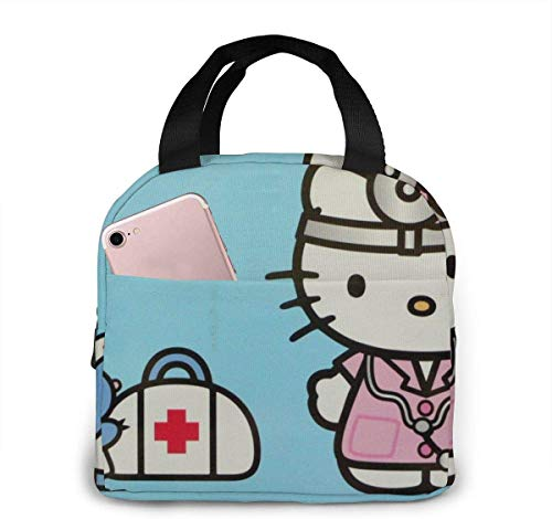 Bolsa almuerzo Tote Hello Kitty Doctor Lunchbox Lonchera