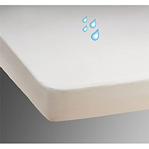 Waterproof Mattress Protector - Incontinence Care - jersey bedding cover 90 x 210 cm - Single-3ft- 90 x 210
