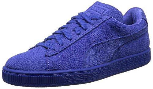Puma Classic Col, Baskets Basses femme Bleu (Dazzling Blue/Dazzling Blue)