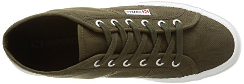Superga  2754-COTU, Sneakers Basses homme Green (595 Military Green)