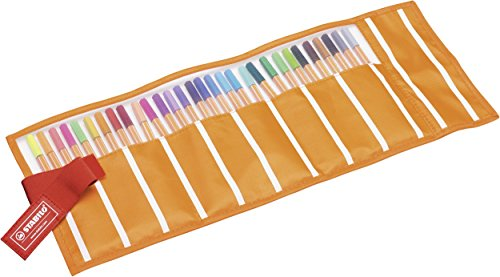 STABILO point 88 Penna Fineliner colori assortiti - Rollerset da 30 - 3